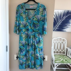 Lilly Pulitzer Long Sleeve Dress - Large
